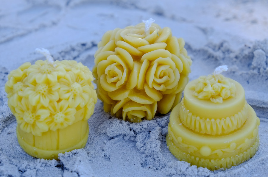 pure bees wax candles purify air